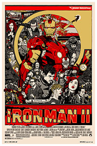 Iron Man 2 poster by Tyler Stout