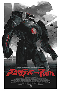 Pacific Rim poster art by Gabz