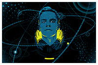 Prometheus poster art by Tracie Ching