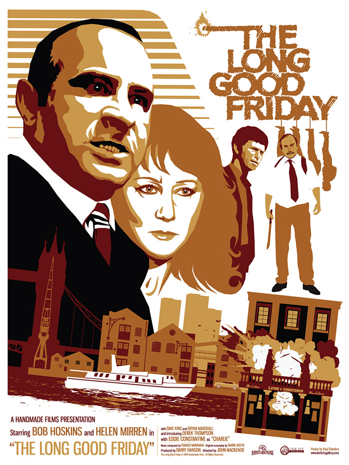 The Long Good Friday poster print by Paul Flanders