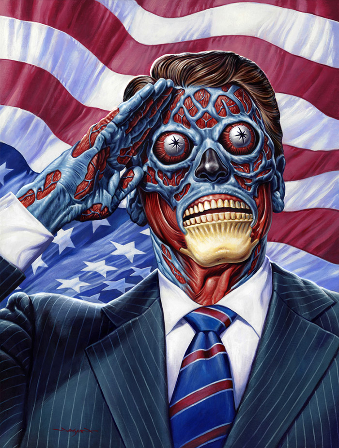 They Live artwork by Jason Edmiston