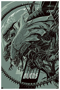 Aliens poster by Ken Taylor