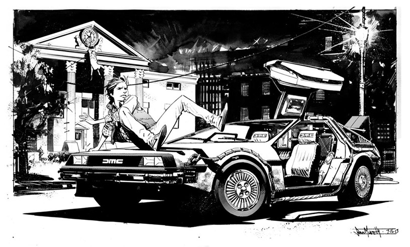 Back to the Future fanart by Sean Murphy