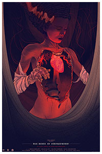 The Bride of Frankenstein poster by Kevin Tong