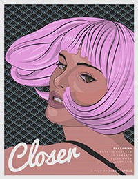 Closer (2004) poster by Matt Edwards