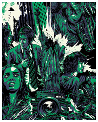 Cloverfield poster by Alexander Iaccarino
