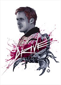 Drive (2011) artwork by Dani Blázquez