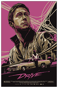 Drive (2011) poster by Ken Taylor