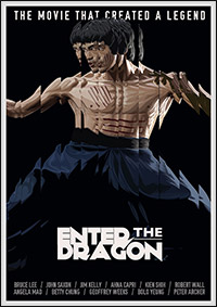 Enter the Dragon fanart by Matt Edwards