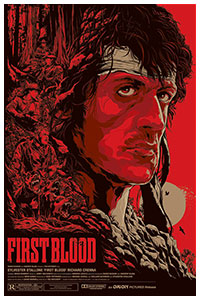 First Blood poster By Ken Taylor