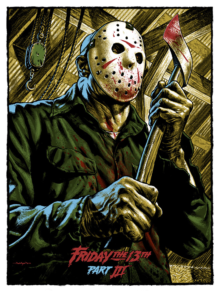 Friday the 13th Part 3 by Jason Edmiston