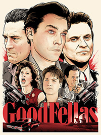 Goodfellas print artwork by Joshua Budich