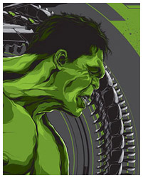 The Hulk from The Avengers By Ken Taylor