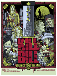 Kill Bill poster by Alexander Iaccarino