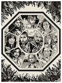 Lost poster by Anthony Petrie