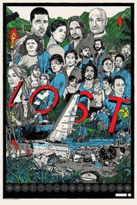 Lost poster By Tyler Stout