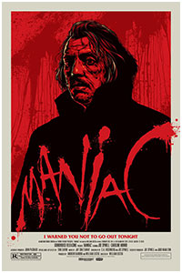 Maniac poster By Ken Taylor