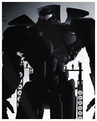 Pacific Rim poster artwork by Rodolfo Reyes