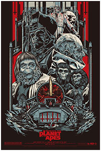 Planet of the Apes poster by Ken Taylor