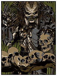 Predator poster by Anthony Petrie