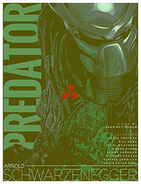 Predator poster by Matt Edwards