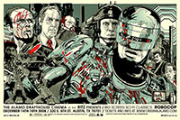 Robocop poster art by Tyler Stout