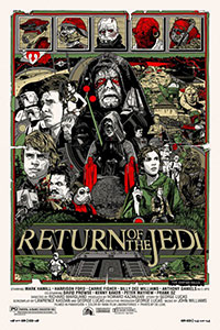 Return of the Jedi by Tyler Stout
