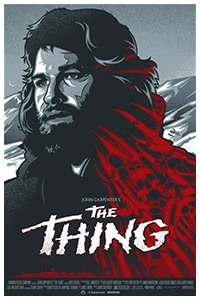 The Thing poster art by James White
