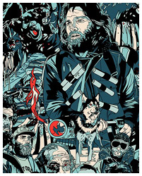 The Thing (1982) poster By Tyler Stout