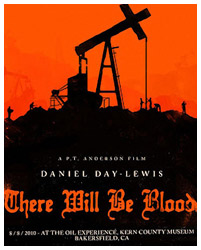 There Will Be Blood (2007) poster art print by Olly Moss