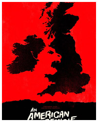 An American Werewolf in London poster by Olly Moss